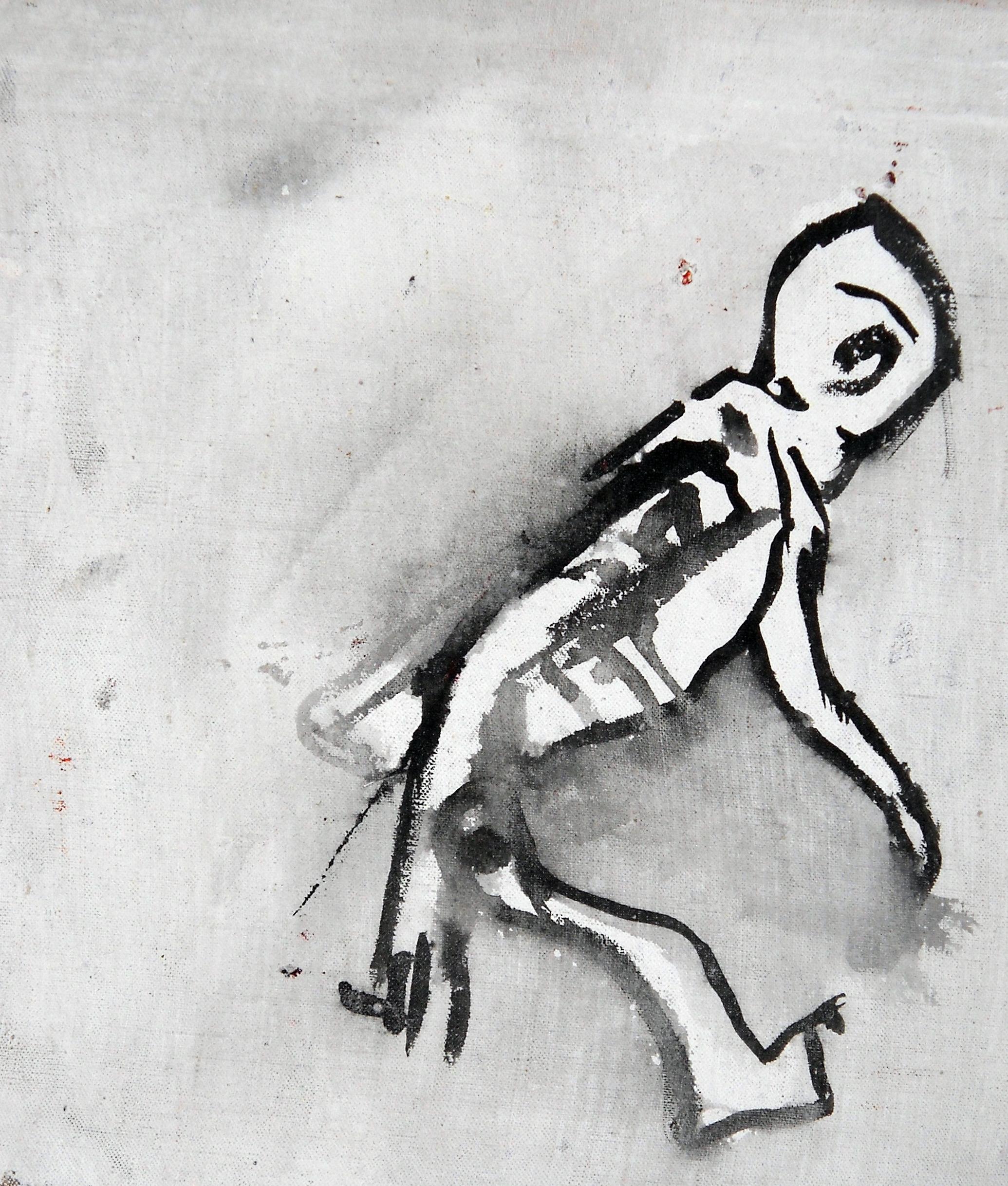 OBJECTO - cm 30x30 - acrilico sobre lienzo