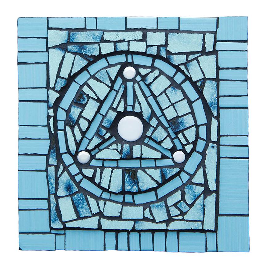 Trinus in Unitate Blue