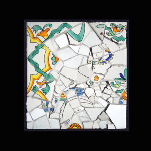 ART PIECES 2 - Recycled Ceramic Mosaic